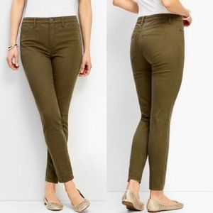 Talbots High Rise Jegging Ankle Jeans in Bay Leaf